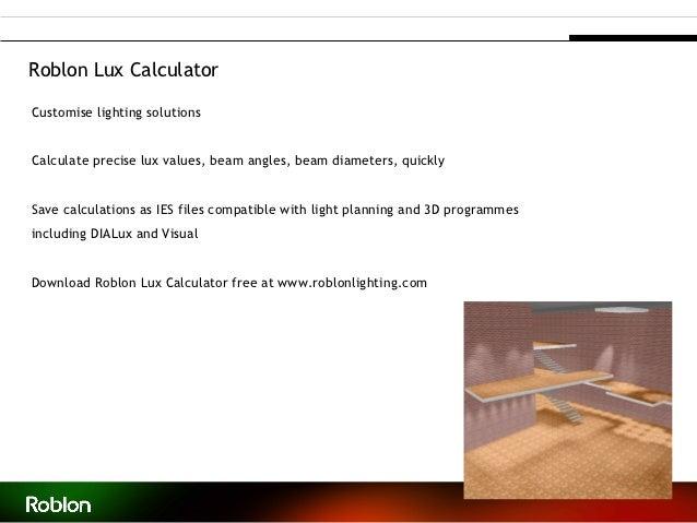 Roblon Lux CalculatorCustomise lighting solutionsCalculate ...  sc 1 st  SlideShare & Fibre optic lighting by Roblon - Denmark
