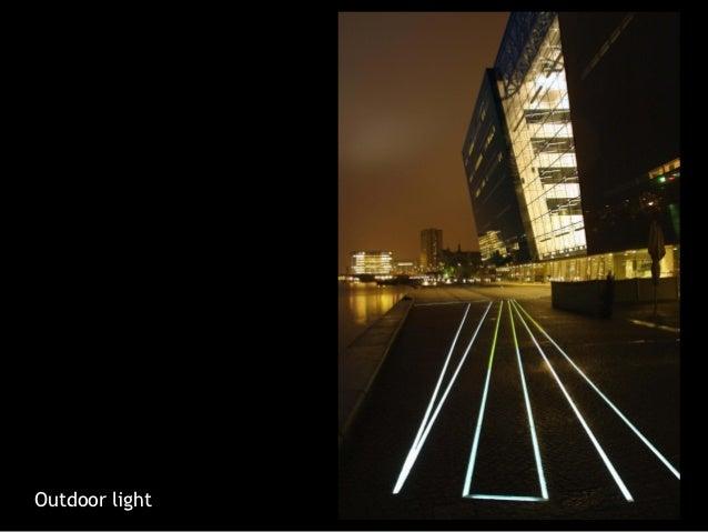 Outdoor light; 21. & Fibre optic lighting by Roblon - Denmark azcodes.com