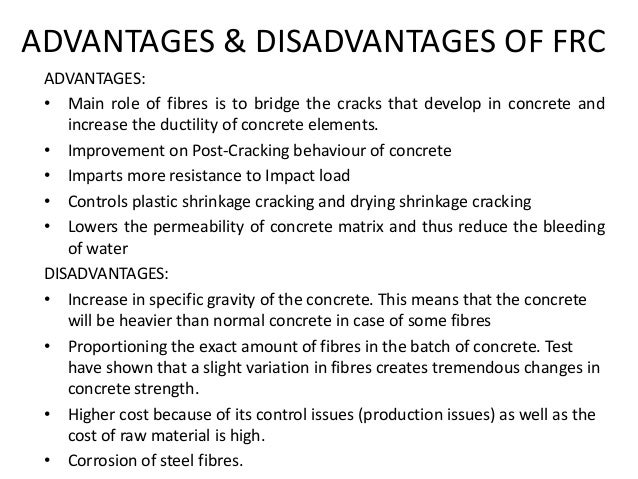 advantages and disadvantages of carbon fibre Benefits, the main disadvantage is the fabrication of these composites   advantages of metallic materials and fibre reinforced matrix systems.