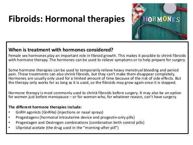 Uterine Fibroids (Leiomyomata): Investigations and Treatment