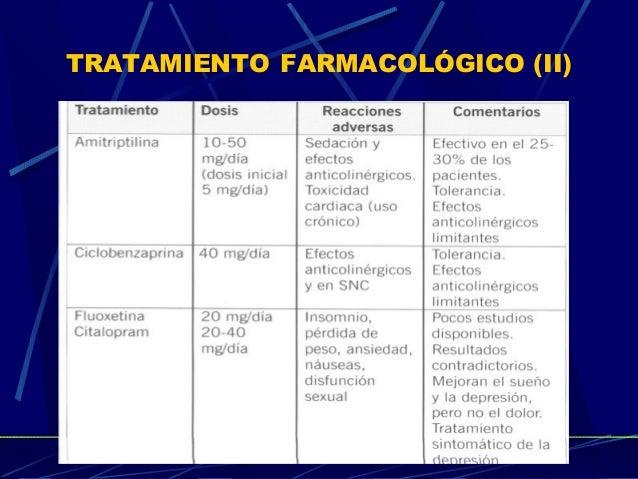 16 TRATAMIENTO FARMACOLÓGICO (II)