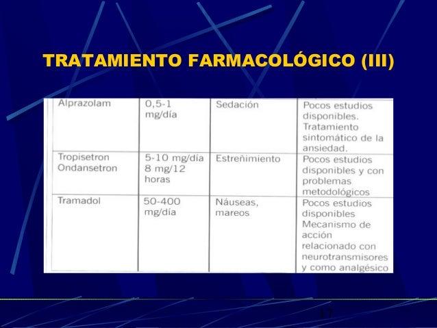17 TRATAMIENTO FARMACOLÓGICO (III)