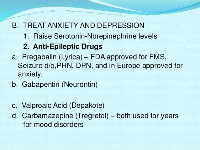 can neurontin treat anxiety