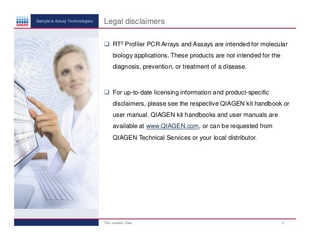 rt2 profiler pcr array user manual