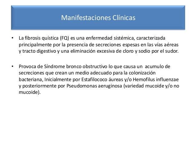 Fibrosis quistica Slide 3