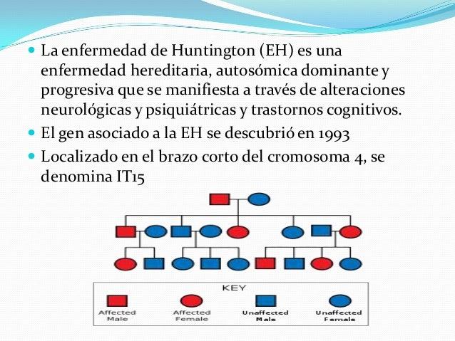 ENFERMEDAD DE HUNTINGTON, FIBROSIS QUISTICA, FENILCETONURIA