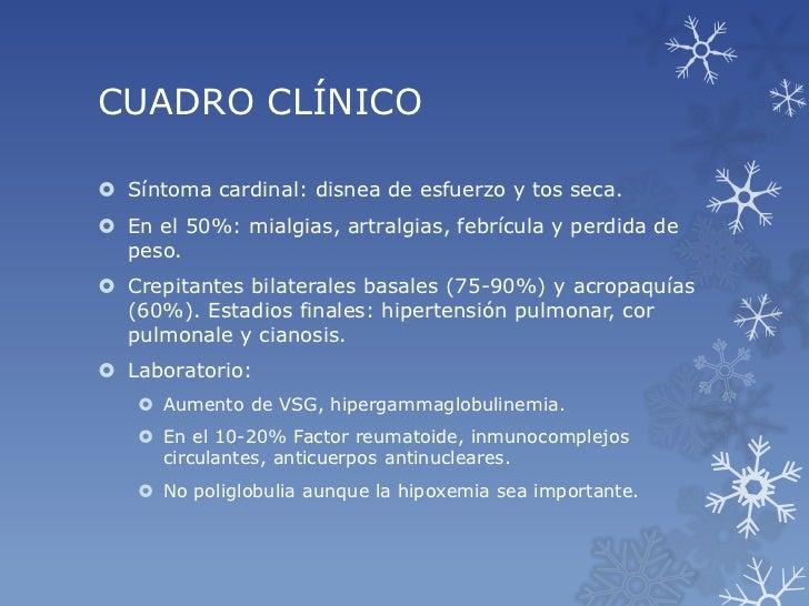 Fibrosis quistica idiopatica