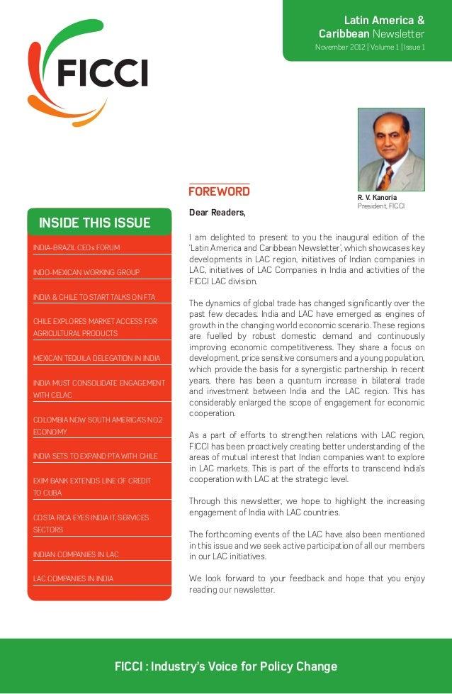 Latin America &                                                                          Caribbean Newsletter             ...
