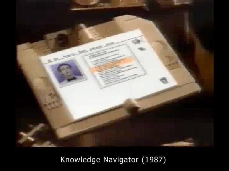 Knowledge Navigator (1987)