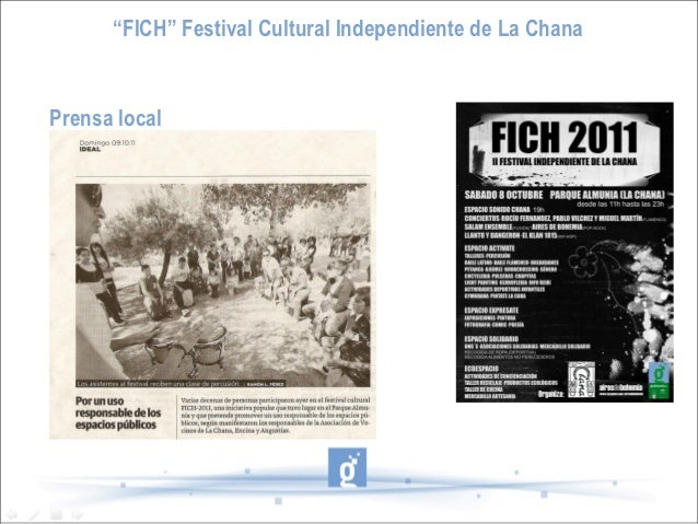 """FICH"" Festival Cultural Independiente de La ChanaPrensa local"