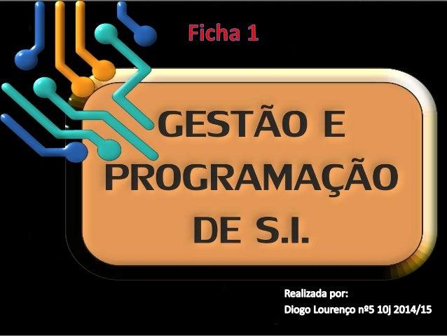 • Um Sistema Operativo é um conjunto de  programas e dados concebidos designados  para gerir os recursos de Hardware e fac...