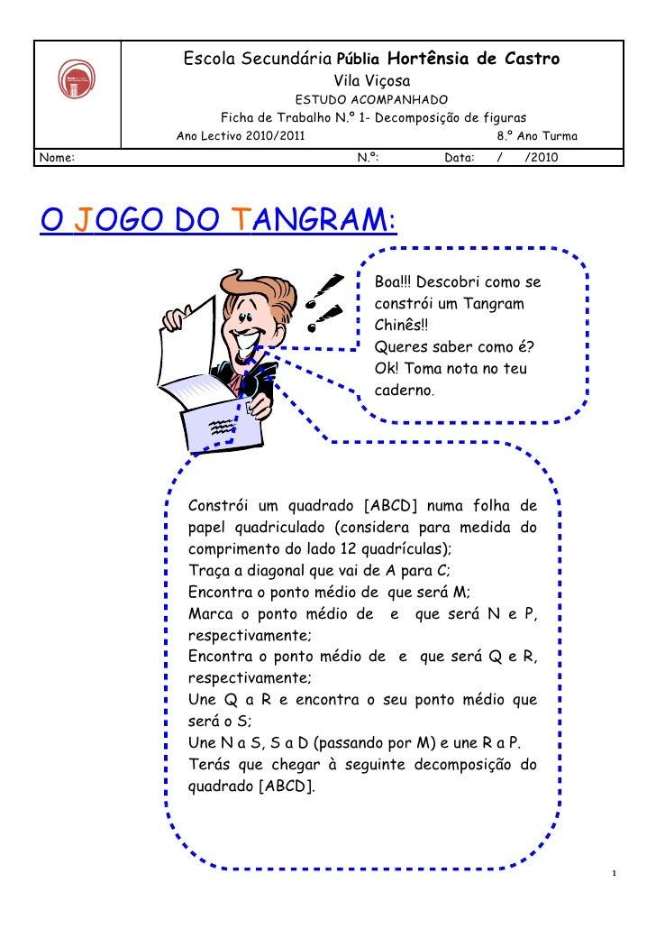 Ficha 1   tangram