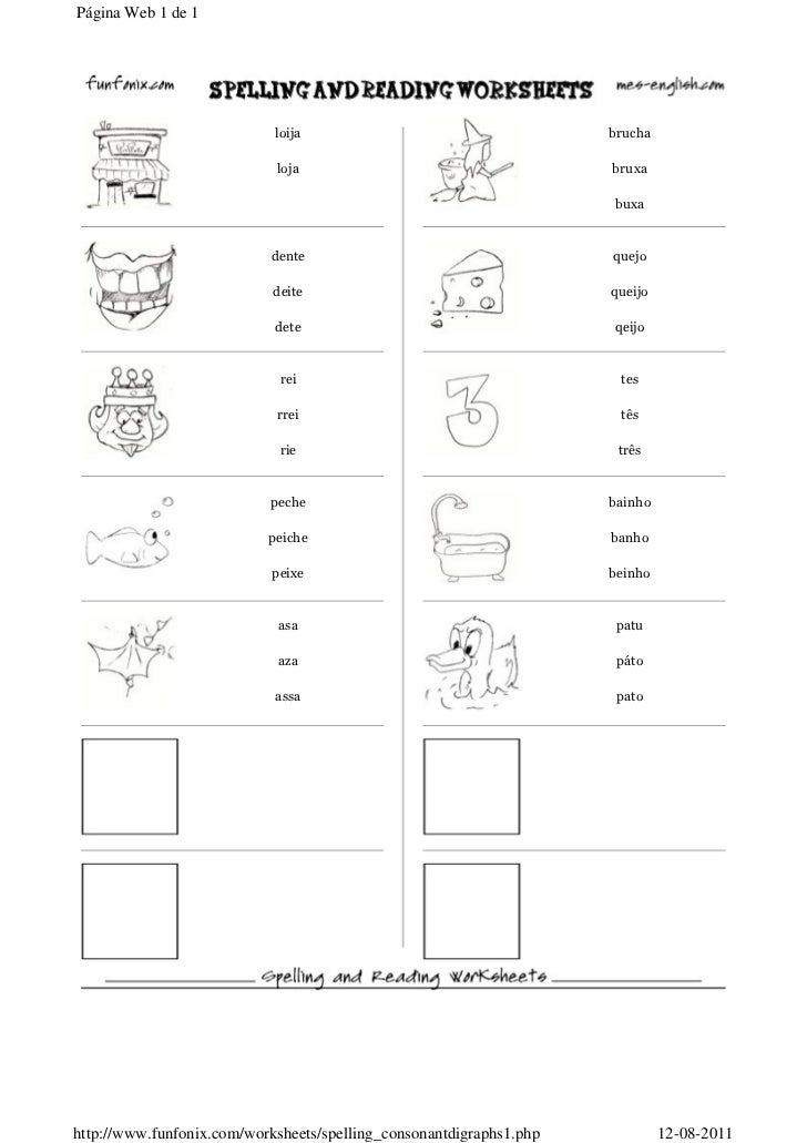 Página Web 1 de 1http://www.funfonix.com/worksheets/spelling_consonantdigraphs1.php   12-08-2011