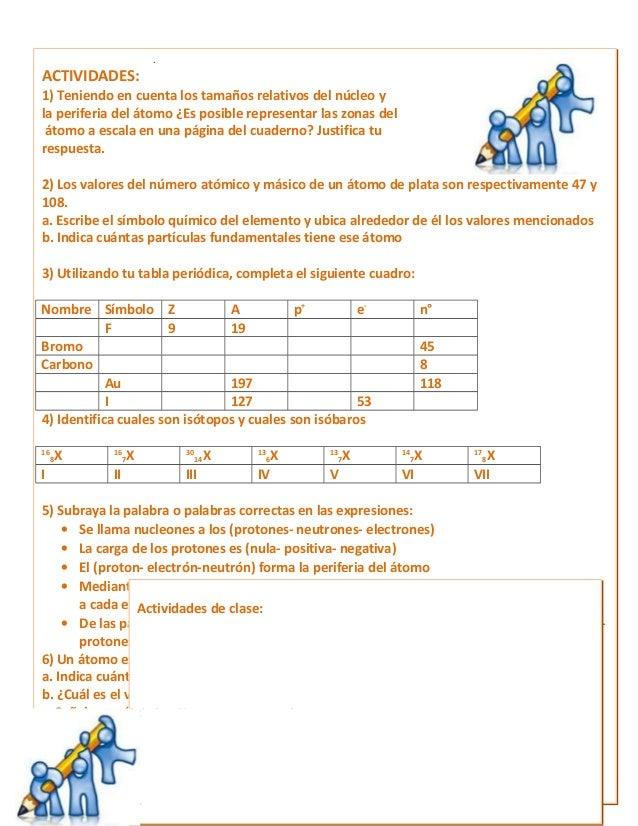 Único Estructura Atómica Página De La Hoja De Trabajo 27 ...