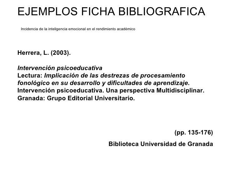 bibliografia anotada apa ejemplos