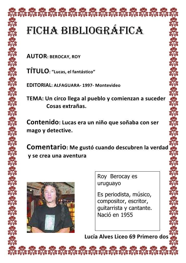 Q Significa Toad En Ingles Ficha bibliografica ro...