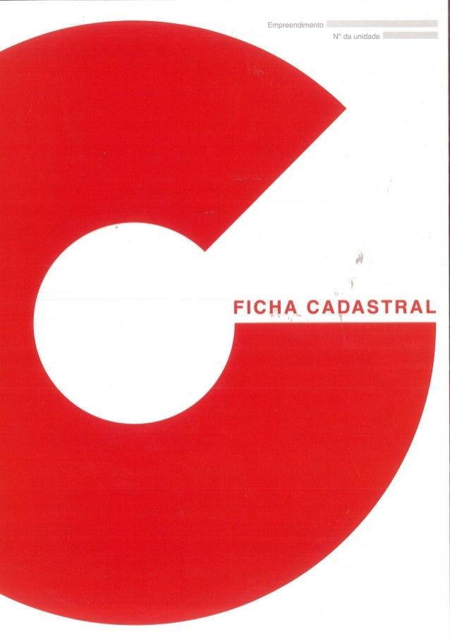 Ficha Cadastral Camargo Correa (Corretor Leite 99354-8288)