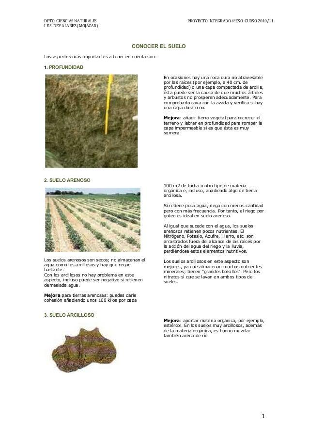 Ficha conocer el suelo for Informacion sobre el suelo