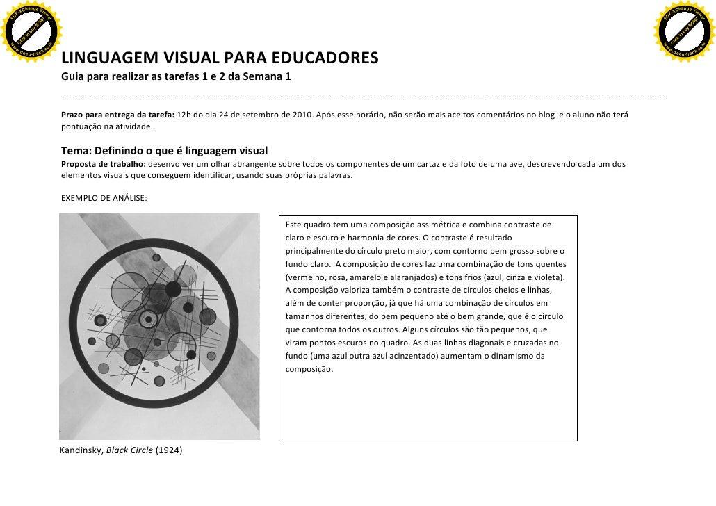 Ficha de analise dirigida  SEMANA 1