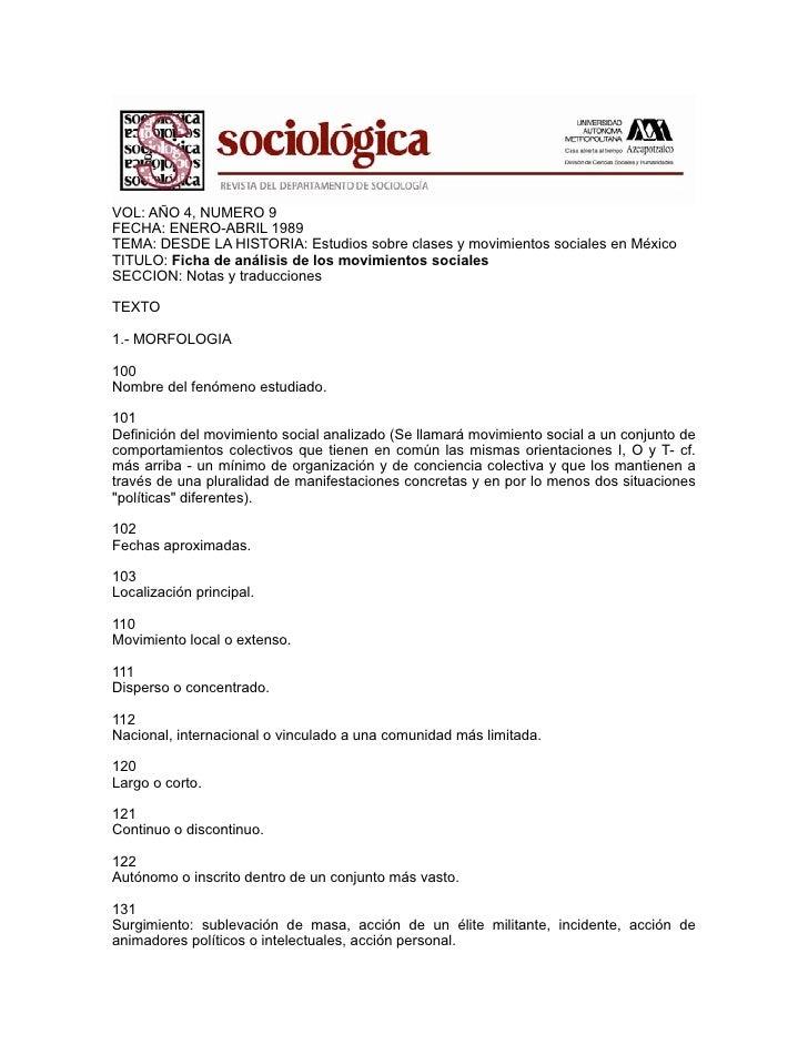 VOL: AÑO 4, NUMERO 9FECHA: ENERO-ABRIL 1989TEMA: DESDE LA HISTORIA: Estudios sobre clases y movimientos sociales en México...