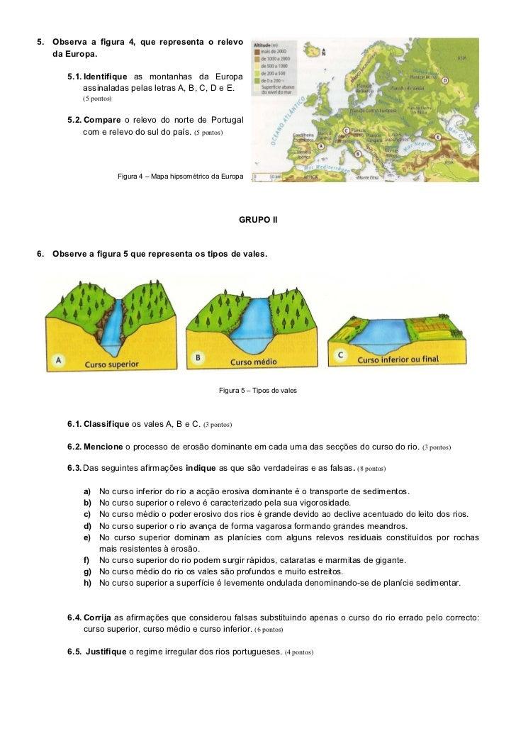 Ficha de avaliaçao_-_relevo,_rios,_litoral,_catástrofes Slide 3