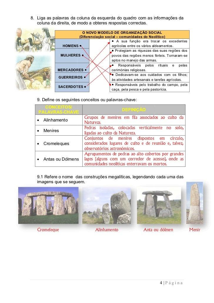 8. Liga as palavras da coluna da esquerda do quadro com as informações da   coluna da direita, de modo a obteres respostas...