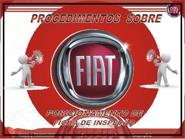 FIASA | TREINAMENTO PIN – 00 (Posicionamento ficha de Inspeção)