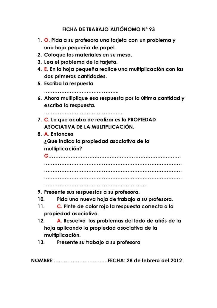 Único Hojas De Trabajo Propiedad Asociativa Colección - hojas de ...