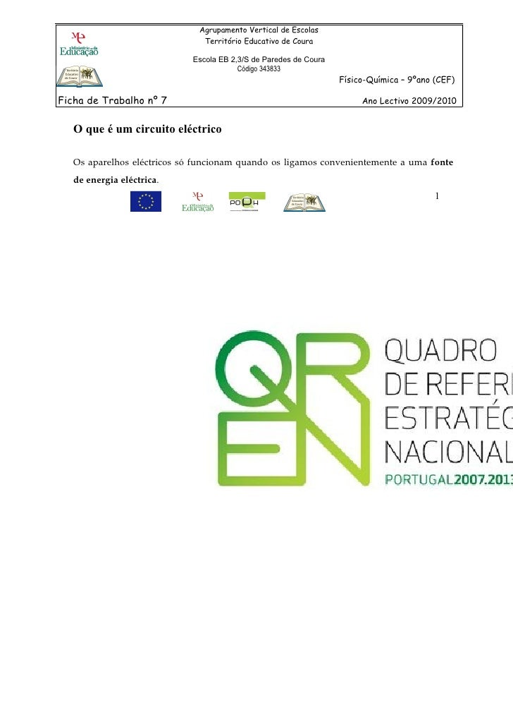 Agrupamento Vertical de Escolas                               Território Educativo de Coura                             Es...