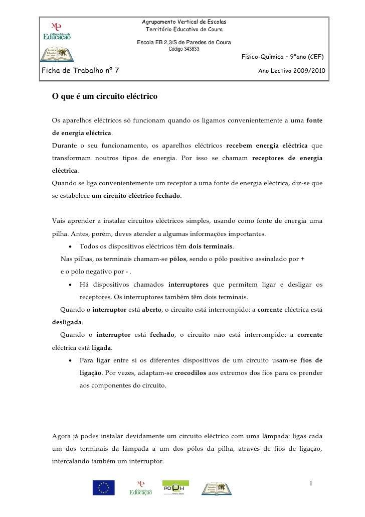 Agrupamento Vertical de Escolas                                     Território Educativo de Coura                         ...