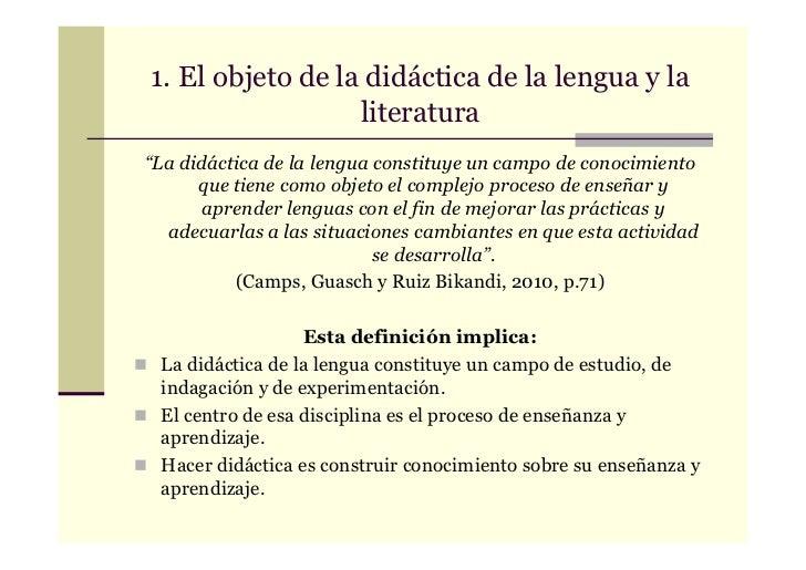 "Ficha de lectura ""Didáctica de la lengua"""