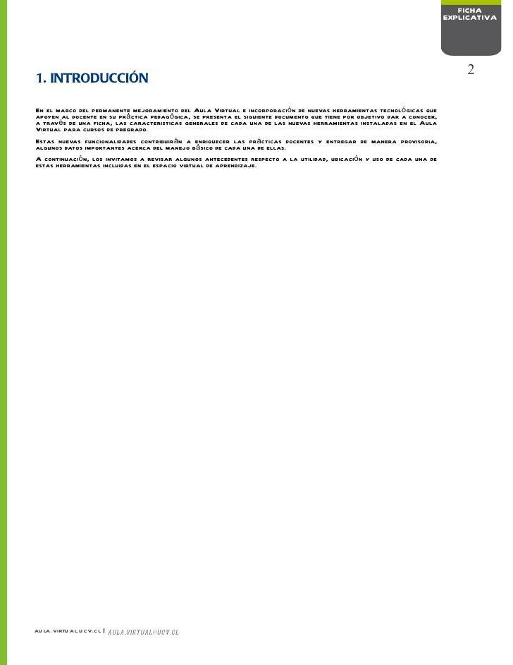 Ficha Explicativa Nuevas Herramientas Aula Virtual Slide 2