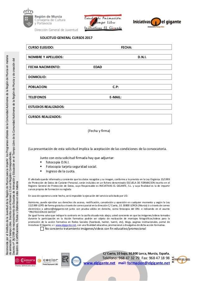 C/Cueto,10bajo,30.800Lorca,Murcia,España. Teléfono:968473279Fax:968471898 www.elgigante.netmail:fo...