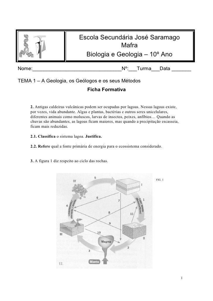 Escola Secundária José Saramago                                                 Mafra                                     ...