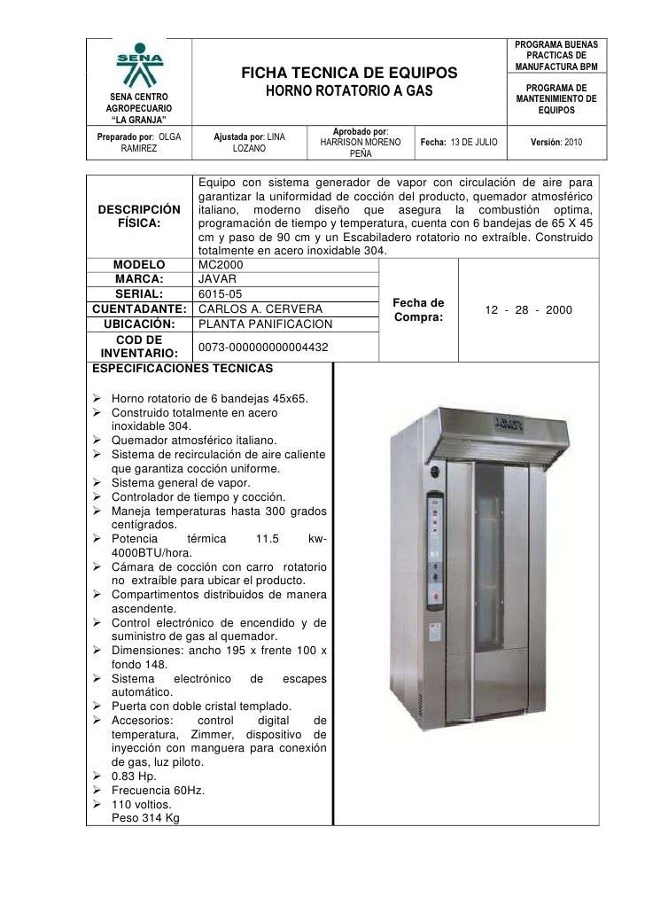 Horno rotatorio a gas for Hornos de vapor industriales precios