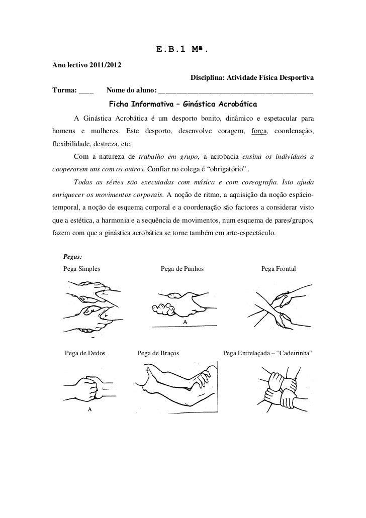 E.B.1 Mª.Ano lectivo 2011/2012                                                 Disciplina: Atividade Física DesportivaTurm...