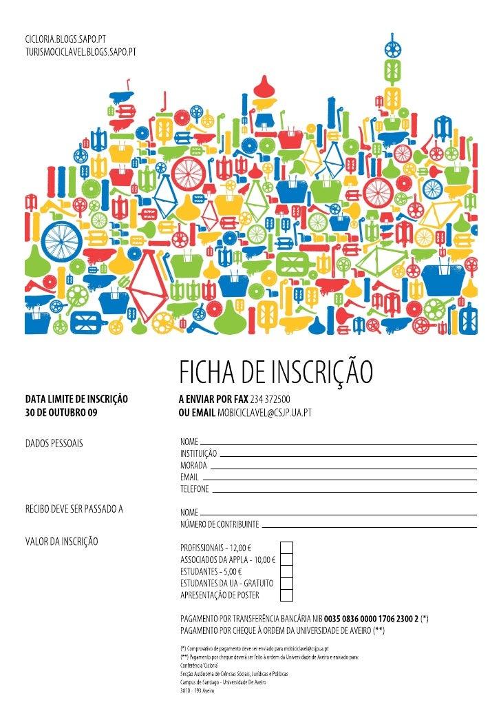 Ficha InscriçãO Pt