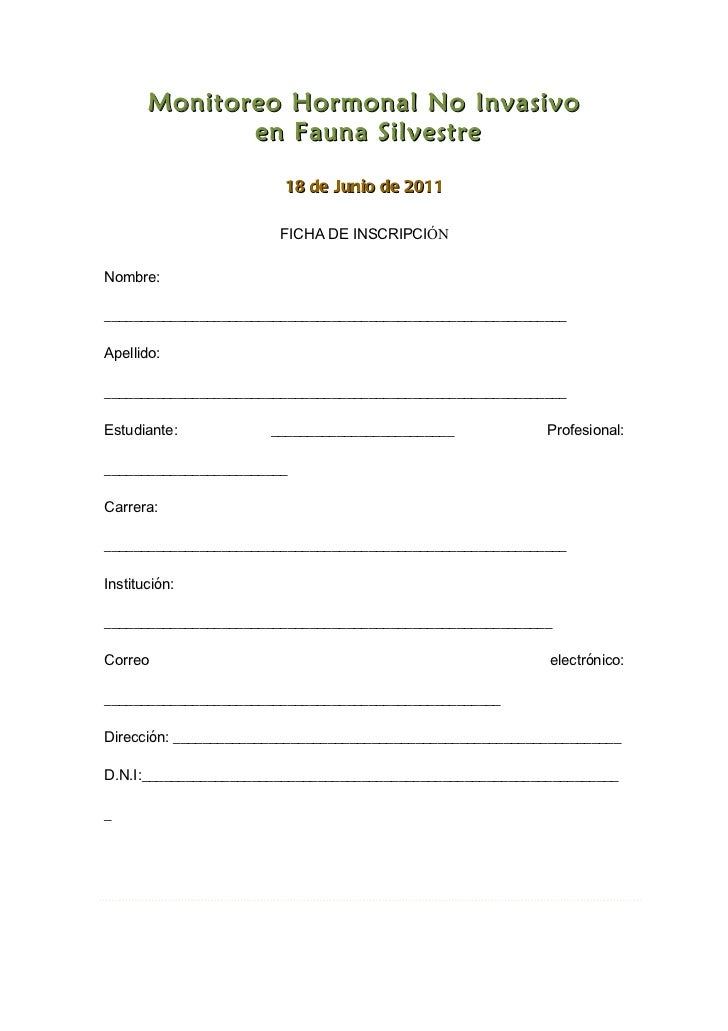 Monitoreo Hormonal No Invasivo              en Fauna Silvestre                         18 de Junio de 2011                ...