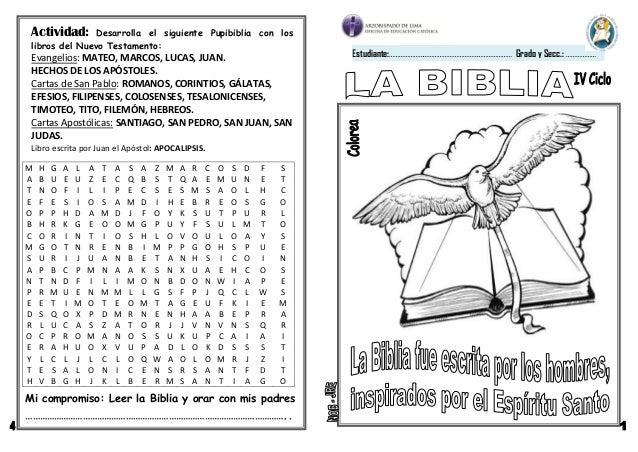 clases para ninos de la biblia