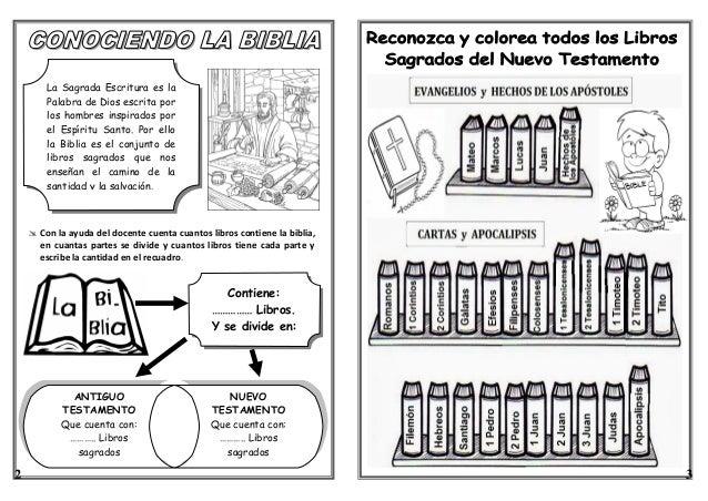 Niño Leyendo La Biblia Para Colorear: FICHA: LA BIBLIA 3° Y 4° GRADO DE PRIMARIA