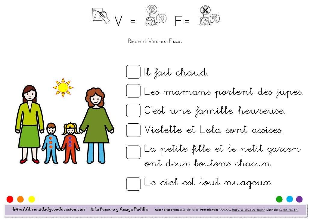 V=                               F=                                                     Répond Vrai ou Faux               ...