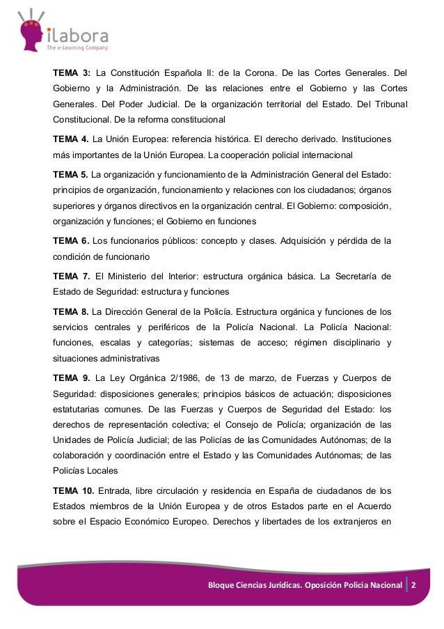 Curso Online De Preparación De Oposiciones Al Cuerpo