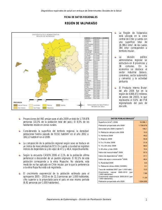 Diagnósticos regionales de salud con enfoque de Determinantes Sociales de la Salud Departamento de Epidemiología – Divisió...
