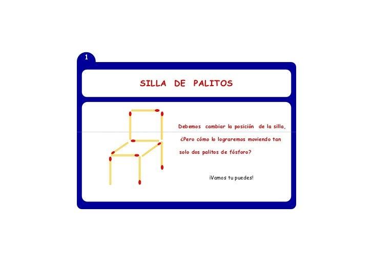 1                   SILLA      DE     PALITOS                                                                1      ¿Cómo ...