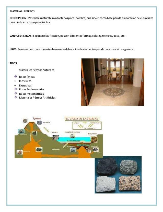 Fichas tecnicas acabados en pisos for Composicion del marmol
