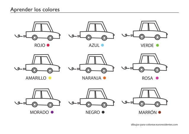 Fichas Aprender Los Colores