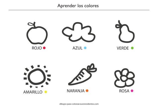 Actividades Para Preescolar De Combinacion De Colores