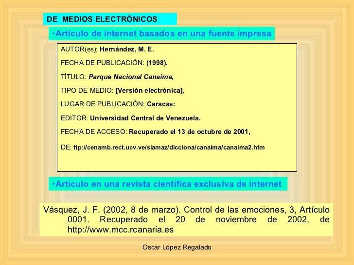 DE  MEDIOS ELECTRÓNICOS AUTOR(es):  Hernández, M. E.  FECHA DE PUBLICACIÓN:  (1998). TÍTULO:  Parque Nacional Canaima , TI...