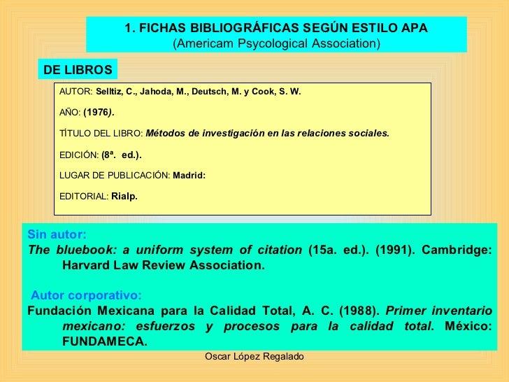 Fichas Bibliograficas E InvestigacióN Slide 2