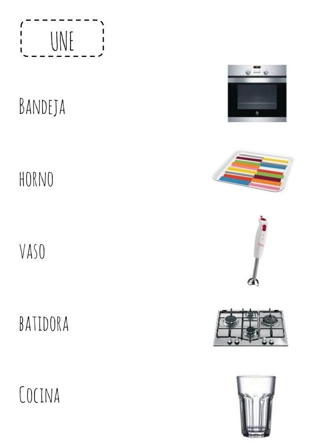 UNE Bandeja horno vaso batidora Cocina
